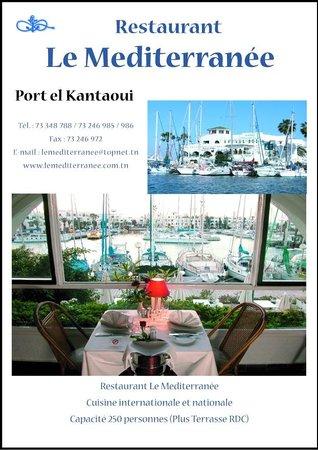 Restaurant Le Méditerranée: Restaurant de reve