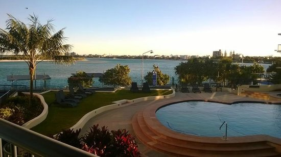 Breakfree Grand Pacific Resort Sunshine Coast: Apartment 49 view - 1 bedroomed apt