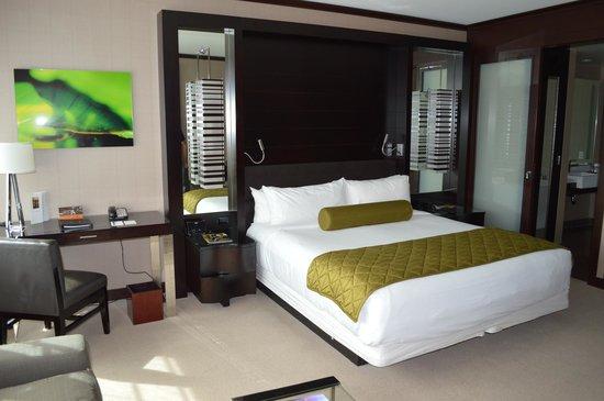 Vdara Hotel & Spa : Notre Chambre au 38è étage