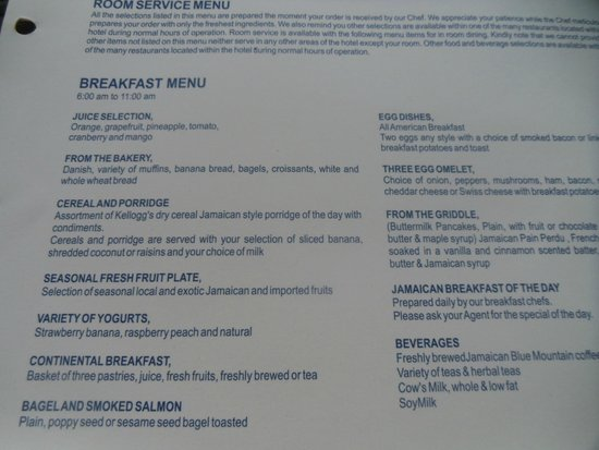 Secrets St James: In Room Breakfast