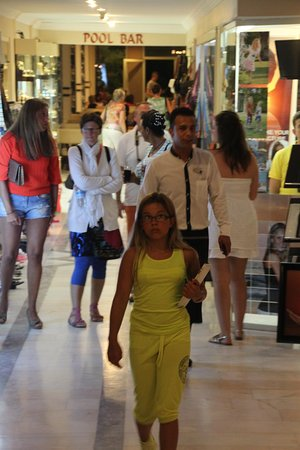 Ephesia Hotel: Shopping à l'hatel