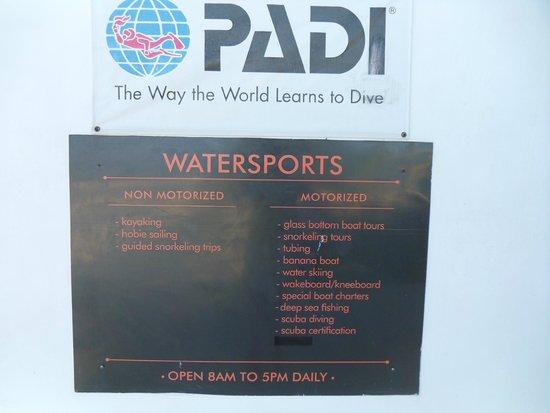 Secrets St. James Montego Bay: Watersports