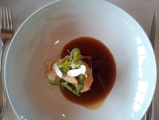 Restaurante Auga: Buenisimo el caldo de cocido y la papada