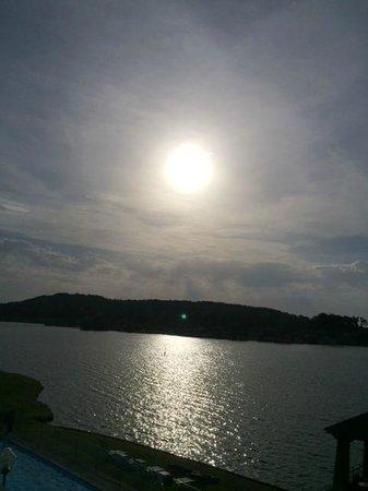 Hôtel du Golf de l'Ailette : Lever du soleil