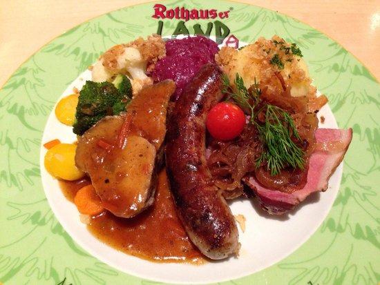 Brauereigasthof Rothaus: Leckeres, zünftiges Essen aus dem Schwarzwald.