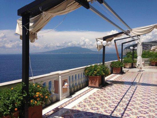 Hotel La Residenza: la terrazza