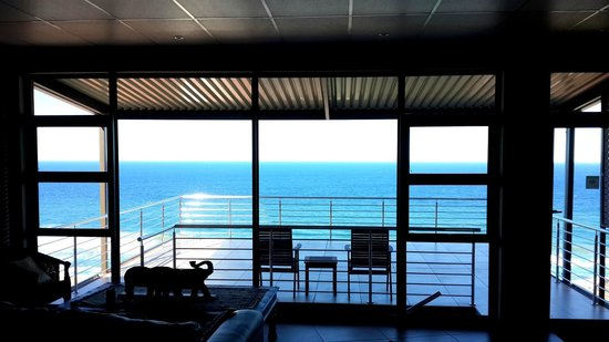 Zimbali View Eco Guesthouse: from the bar area!!