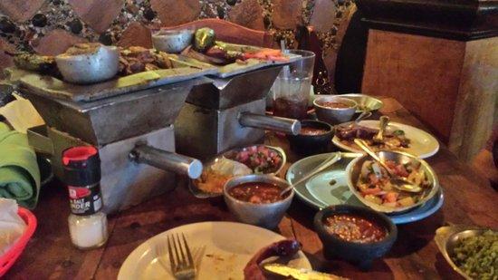El Tiempo Cantina Washington: Big portions