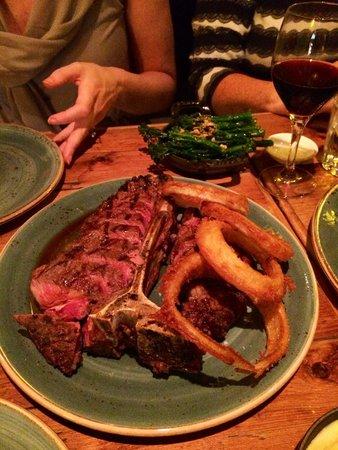 The Butcher Grill : T bone !!