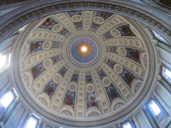 Marmorkirken : Ceiling