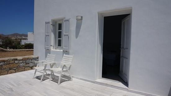 Margie Mykonos Hotel: balcony
