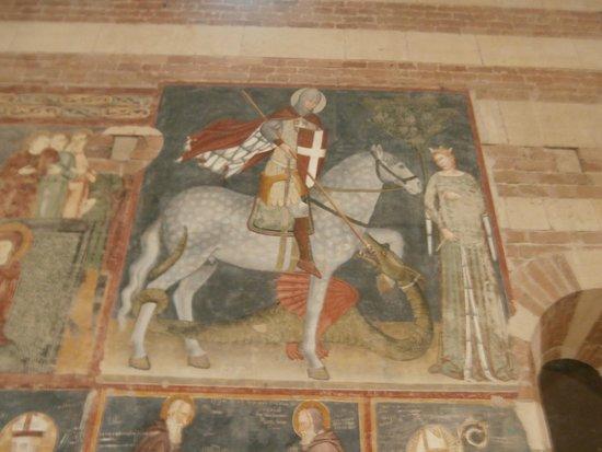 Chiesa di Sant'Anastasia : San Giorgio e la Principessa da Pisanello (1377-1455 )