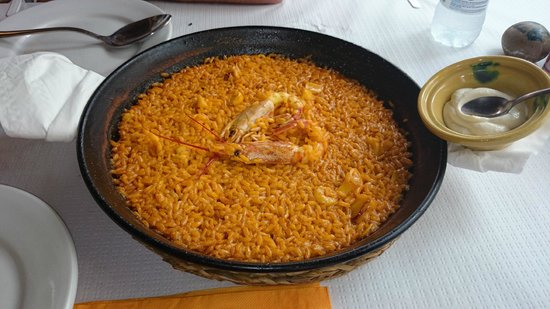 LA GOLOSONA: arroz abanda