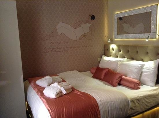 Design Hotel Jewel Prague: chambre opal
