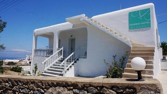 Margie Mykonos Hotel: front