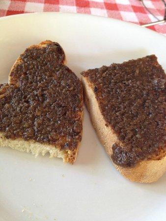 Ristorante La Stalla: Truffle spread