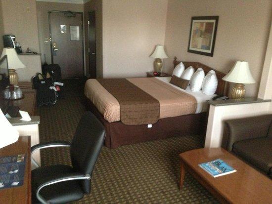 Best Western Plus Suites Hotel: La chambre très spacieuse