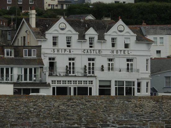 The Ship and Castle Hotel: From the Sea.