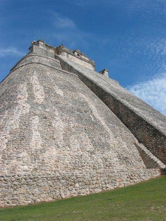 Zona Arqueologica Uxmal: Pyramide van de tovenaar - Uxmal