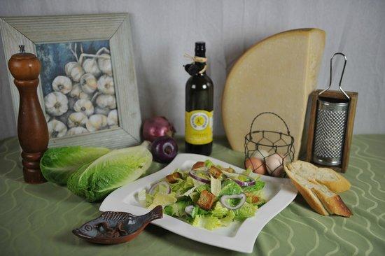 Stoudt's Black Angus Restaurant & Brew Pub: Caesar Salad
