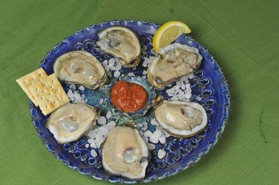 Stoudt's Black Angus Restaurant & Brew Pub: Oysters