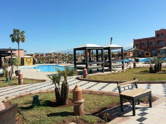 Be Live Family Aqua Fun Marrakech : Nice pool area good space