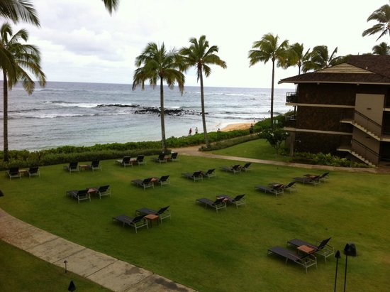 Koa Kea Hotel & Resort: View from our lanai.