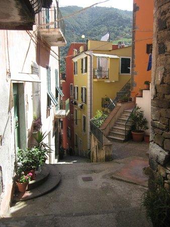 Walk up to La Casa di Andrea, so beautiful!