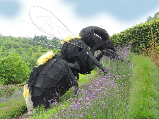 Eden Project: BIG bee sculpture