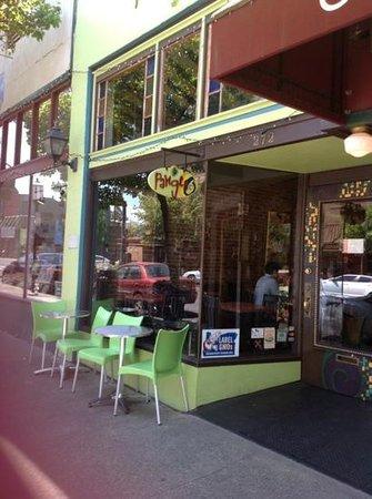 Pangea: neat charming vegan friendly restaurant