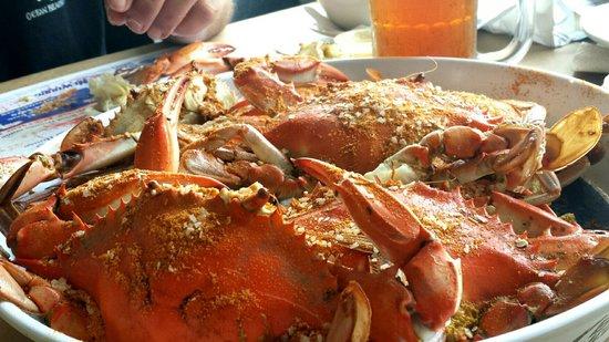 Grimstead, VA: Best crabs ever