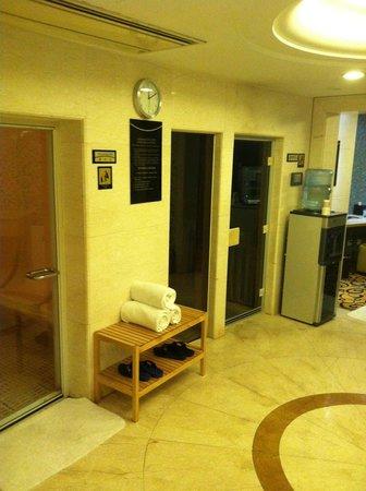 Pullman Shanghai Skyway Hotel : Hammam / Sauna
