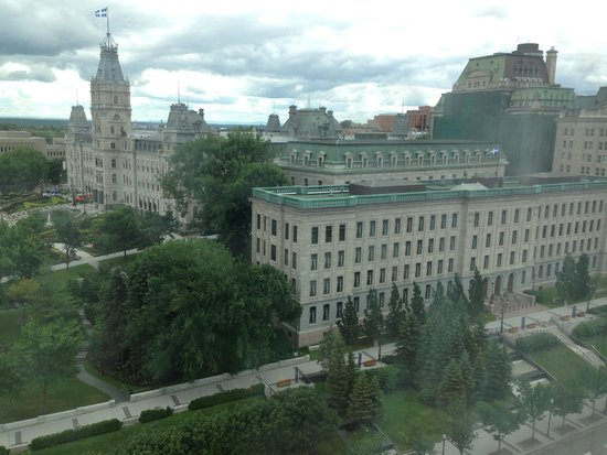 Hilton Quebec: The view from my room
