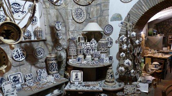 Viterbo Historic Centre : Negozio ceramiche