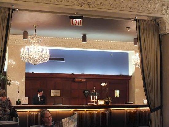 The Drake Hotel: Registration Desk