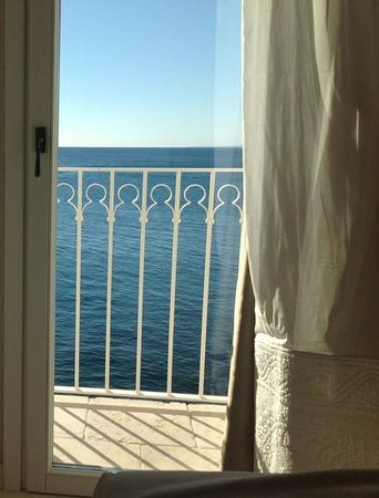 Don Ferrante Dimore di charme: view from our bed