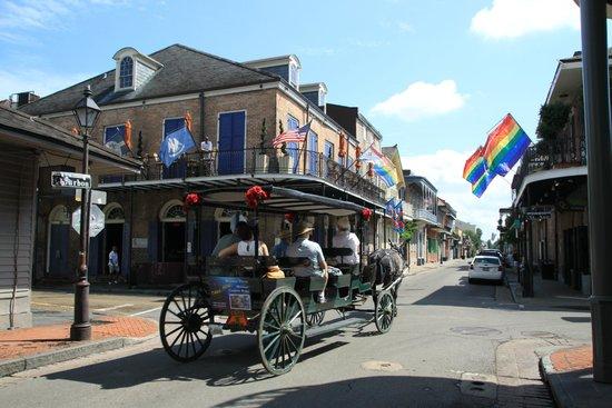 Bourbon Street dans la journée.