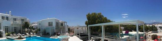 Semeli Hotel : Poolbereich