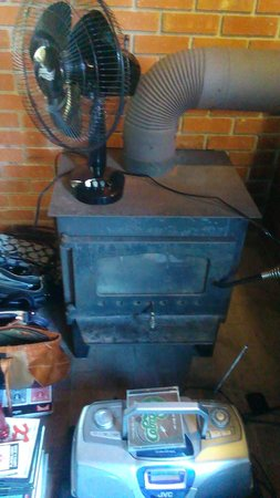 Isaiah Tubbs Resort: dirty fire stove