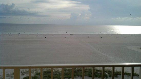 Bilmar Beach Resort: Sunset view from balcony