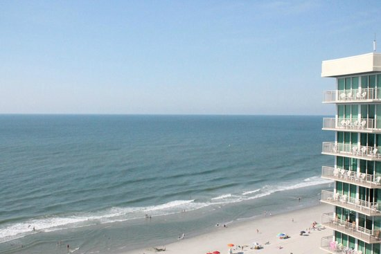 Avista Resort: looking out at the ocean from our room