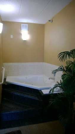 Best Western Plus North Haven Hotel: Garden tub in bridal suite