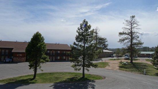 Best Western Plus Ruby's Inn: Вид из номера (в направлении парка)