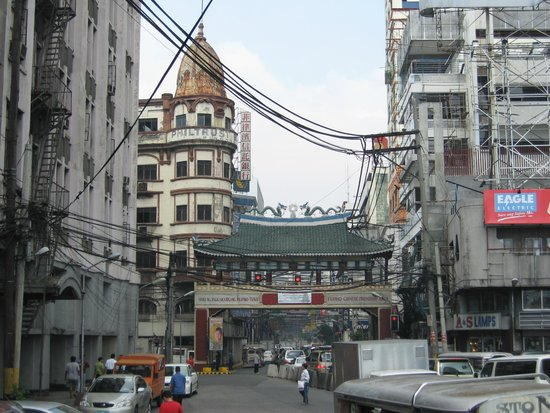 Chinatown : Entrance gate close to Jones Bridge.