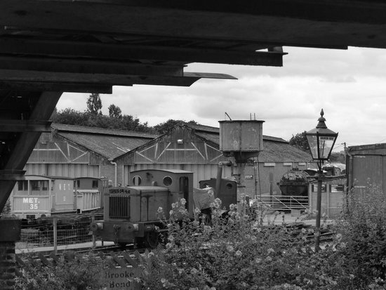 Buckinghamshire Railway Centre: Hunslet 0-4-0DM WD849