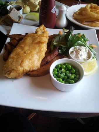 The Izaak Walton Hotel: Fish and Chips