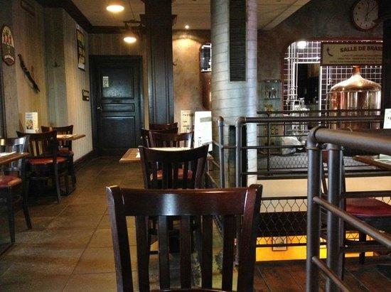 Les 3 Brasseurs: à l'étage du restaurant