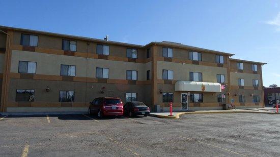 Super 8 Cedar City: Здание мотеля