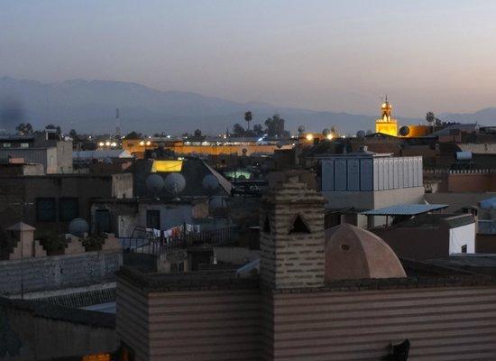 Riad Ilayka : View from the gazebo
