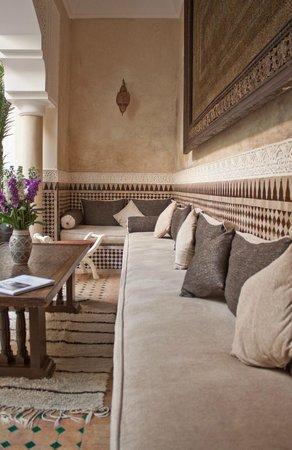 Riad Ilayka : Inner courtyard